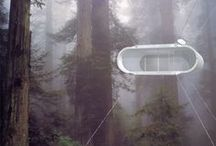 High In The Sky / Treehouses, suspended, and off the ground structures   / by Cindy Scott