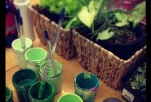 Reggio inspired provocation and invitation