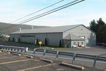 Commercial Pole Buildings / These are buildings that are used for mainly business, public storage, volunteer centers, and much more! All buildings were built by Pioneer Pole Buildings. Call 888-448-2505 for any questions.