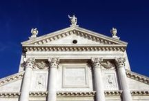 Palladio: churches and religious buildings / All the churches and the religious buildings designed by Andrea Palladio