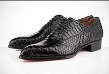 Man In Black -  Shoes / These are shoes I want!  Selected from the board http://www.pinterest.com/only1tikita/for-my-man-in-black/