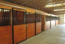Horse Stalls / Ideas and what Pioneer Pole Buildings can build for you!