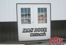 Man Door Mondays! / Every Monday we post a picture of a new Man Door that we installed on one of our buildings.