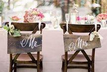 Sillas para bodas / Inspiración e ideas de sillas con las que decorar tu boda.