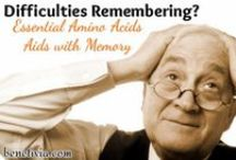 Memory Loss / Essential Amino Acids is the nutritional solution for brain chemical balancing, designed to provide the nutritional support necessary to help balance these brain neurotransmitters that are the driving force behind learning and behavior.
