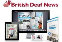 British Deaf News / British Deaf News (BDN) - the leading monthly publication for the Deaf and signing community, produced by the British Deaf Association.   BDN aims to bring the latest news, information and articles of interest to Deaf BSL users.