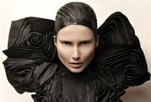 Fabric manipulation / Structured shapes, pleats, draping, 3D surface patterns from material.