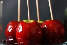 Candy. Apple! / Candy apple inspiration. sweet, Fruity, caramelized goodness