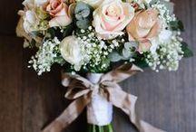 Jenny's pink & grey wedding