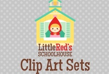 Little Red's Clip Art / Find all of our clip art right here! Come visit us at littleredstreehouse.com to learn more about us :) / by Little Red's Schoolhouse