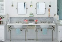 Bathroom inspiration / Bathroom ideas and inspiration.