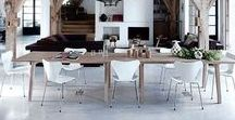 Dining spaces / Dining rooms, spaces and ideas.
