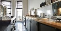 Kitchen ideas / Kitchen and living spaces.