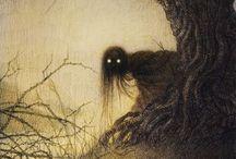 Art: evilism / Darkness in art