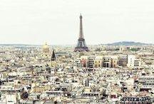 Drömmar om att resa. / Platser jag i framtiden ska besöka.