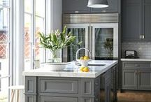 Beautiful Kitchens / Kitchens that inspire us to make delicious recipes with Aunt Nellie's and READ Salads!