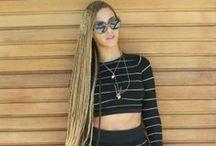 Favorite celebrity hair / Amazing hair weaves