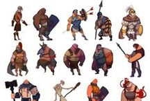 Stylised Characters / Bunch of stylised character references.