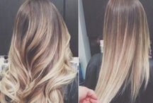 Hair color and styles I love