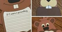 Groundhog's Day / Crafts, activities, bulletin boards, fun foods, and ideas based around a Groundhog's Day theme.