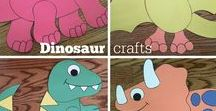 Dinosaurs / Crafts, activities, bulletin boards, fun foods, and ideas based around a dinosaur theme.
