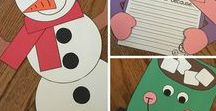Winter / Crafts, activities, bulletin boards, fun foods, and ideas based around a Winter theme.