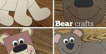 Bears / Crafts, activities, bulletin boards, fun foods, and ideas based around a bear theme.
