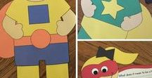 Super Heroes / Crafts, activities, bulletin boards, fun foods, and ideas based around a super hero theme.