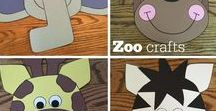 Zoo / Crafts, activities, bulletin boards, fun foods, and ideas based around a zoo theme.