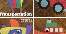 Transportation / Crafts, activities, bulletin boards, fun foods, and ideas based around a transportation theme.