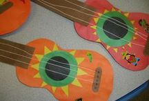 Music / Crafts, activities, bulletin boards, fun foods, and ideas based around a music theme.
