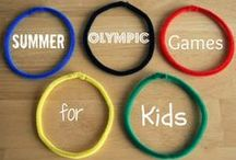 Olympics / Crafts, activities, bulletin boards, fun foods, and ideas based around an Olympics theme.