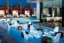Vegas Pool Parties / It's pool season in Vegas and you have some day drinking to do.