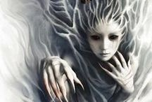 Fowley / Because I love creepy things. And I love fairies. So I love creepy fairies.