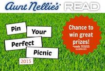 Enter the Pin Your Perfect Picnic Contest 2015! / Enter NOW for a chance to win $500 plus a great selection of Aunt Nellie's and READ Salads products to make your perfect picnic delicious and easy! Contest ends July 31, 2015. More information and official rules: http://bit.ly/1LWr10O / by Aunt Nellie's & READ Salads