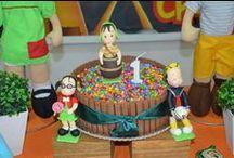 Festa do Chaves / Dicas de decoração, bolos e doces para festas no tema Chaves. Dica selecionadas pelo blog Mamãe Pratica (www.mamaepratica.com.br).