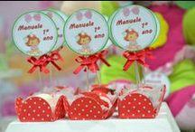 Festa Moranguinho / Dicas de itens para festas infantis no tema Moranguinho. Dicas selecionadas pelo blog Mamãe Prática (www.mamaepratica.com.br).