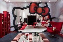 Quarto Hello Kitty / Dicas de produtos, decoração e outros itens sobre o universo da Hello Kitty. Dicas selecionadas pelo blog Mamãe Prática (www.mamaepratica.com.br).