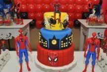 Festa Homem Aranha / Dicas de decoração para festa infatil e outros itens relacionados ao Homem Aranha.