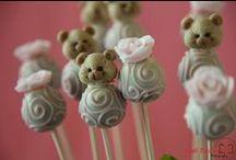 Chá de Bebê e Festa 1 ano ursinhas / Dicas de decoração e doces para Chá de Bebê e Festa de 1 ano no tema ursinhas.