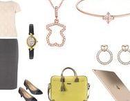 Office jewellery / Jewellery for work, light weight jewellery, delicate jewellery, office jewellery