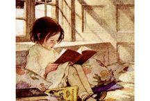 Äikkä - lukeminen taiteessa