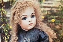 Antique, Reproduction Dolls and Clothing