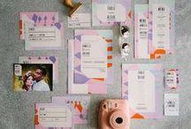 [WEDDING] Thème Industriel / Les inspirations de la collection de papeterie mariage Flashy Eighties.