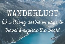 <Wanderlust> / Travel far enough you meet yourself...