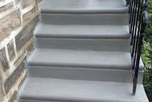 Concrete Steps / This board displays the quality work that I do in the Philadelphia area.