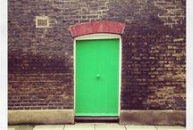 """Door from Instagram / An open selection of """"vintage"""" and old cool doors from Instagram  #door #flessyasocial"""