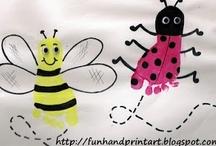 thema: kriebelbeestjes knutselideeën