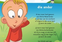 school: sociale vaardigheden / by Juf Ineke