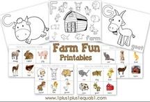 thema: boerderij allerlei